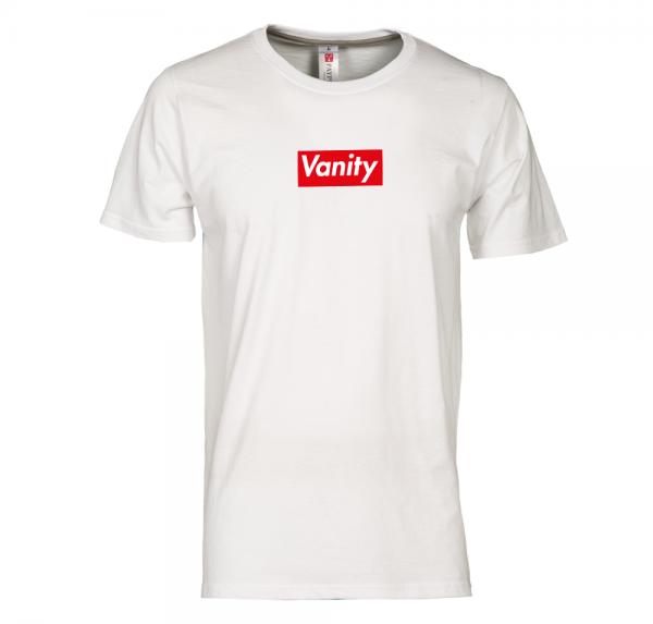 VANITY - T-Shirt Rundhals - Weiß