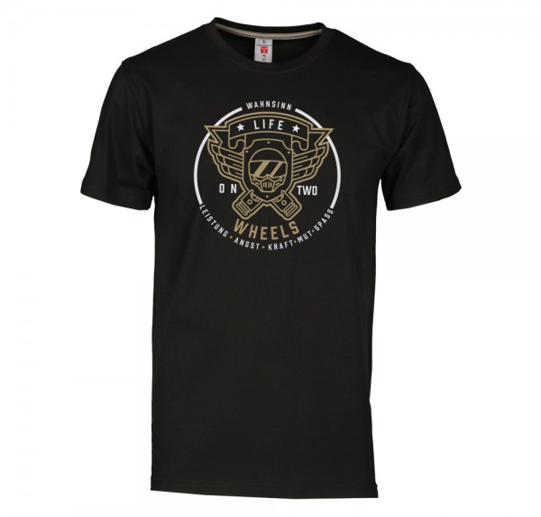 Abenteuer - T-Shirt - Schwarz