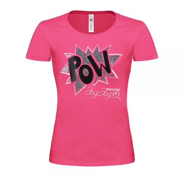 POW - T-Shirt Damen - Pink