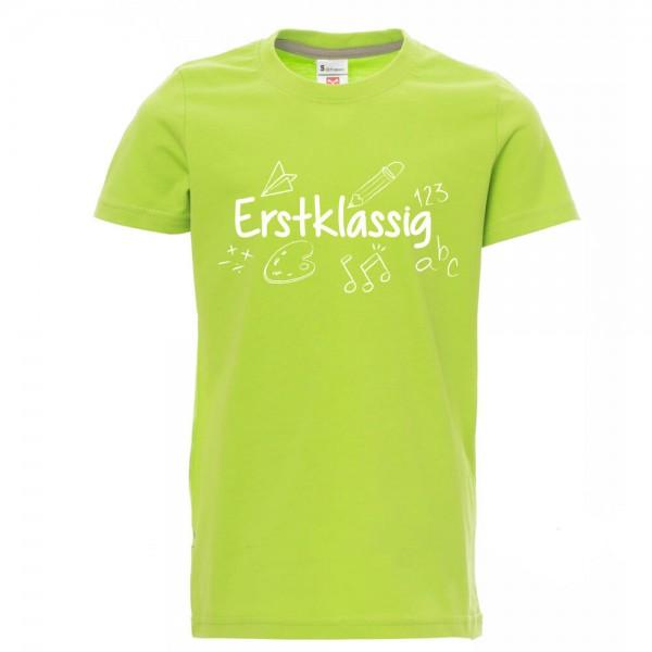 Erstklassig - Shirt - Lime Green