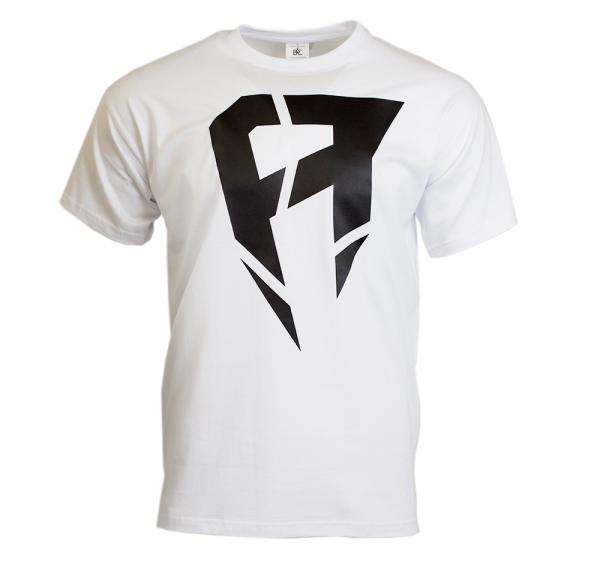 A - T-Shirt - Weiss