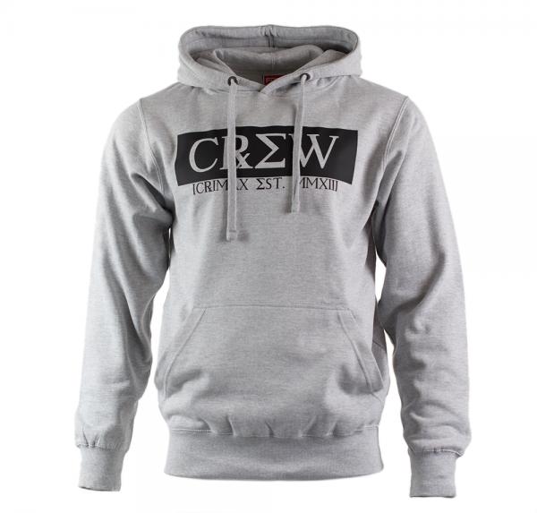 CREW - Hoodie Unisex - Grau