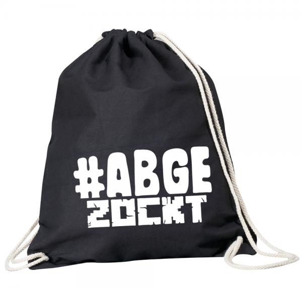 #Abgezockt - Rucksackbeutel