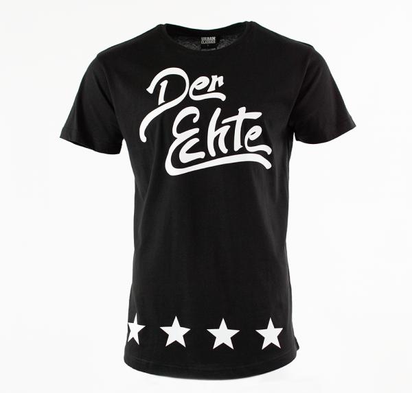 Der Echte - Long-Shirt - Schwarz
