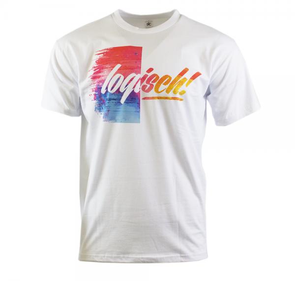 Logisch - T-Shirt - Weiss