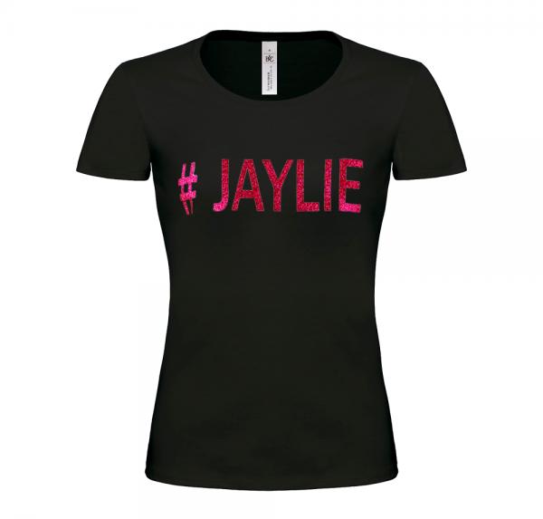 #JAYLIE - T-Shirt Damen - Schwarz