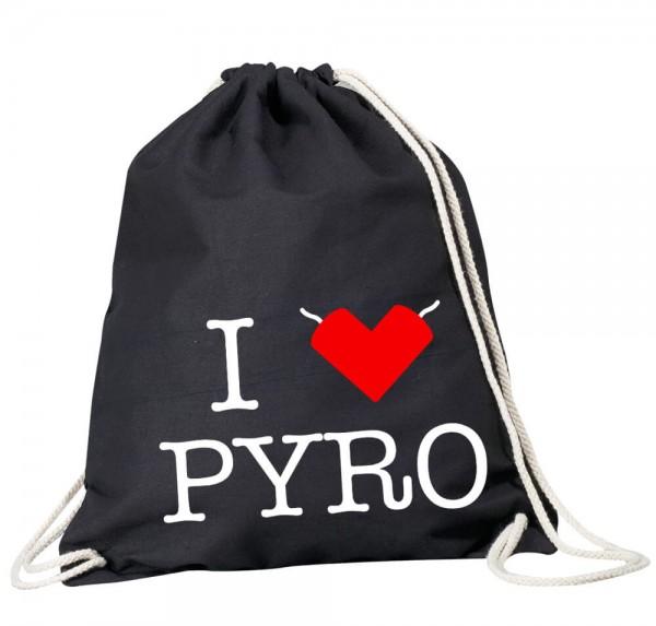 I ♥ PYRO - Rucksack