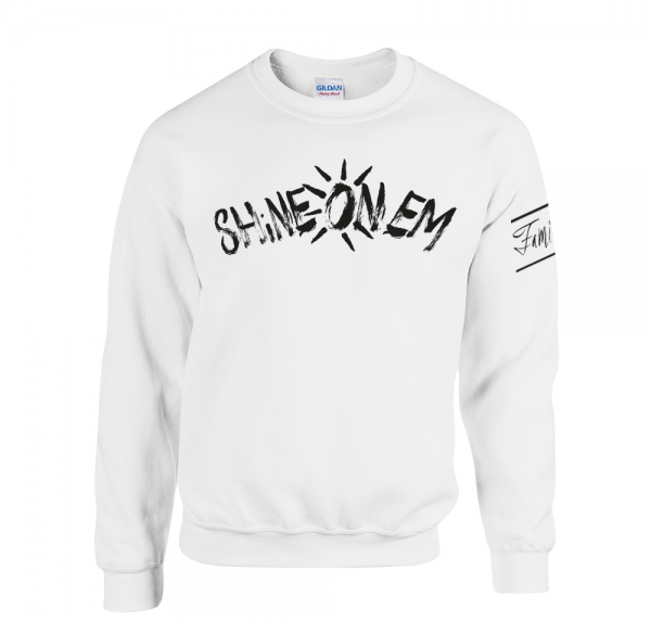 Shine On Em - Sweater - Weiss