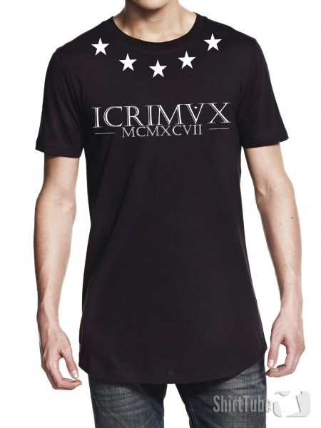 iCrimax Star - Long-Shirt - Schwarz