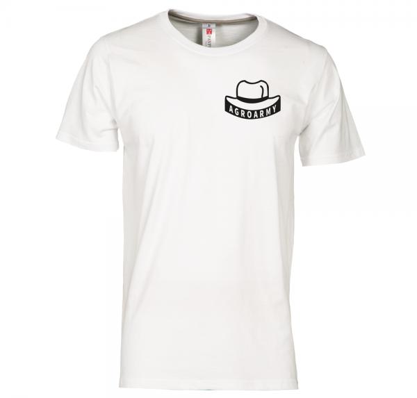 AgroArmy - T-Shirt - Weiß