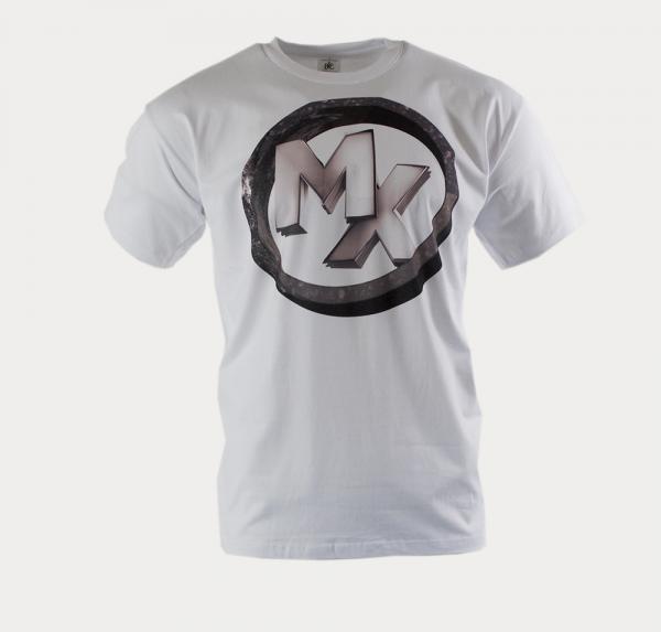 MX Ring - T-Shirt - Weiss