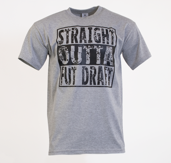 Straight - T-Shirt - Sport Grey