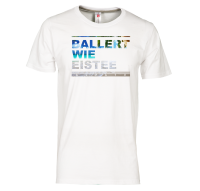 Ballert wie Eistee - T-Shirt - Weiss