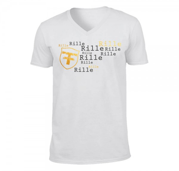 Rille - T-Shirt - Weiss